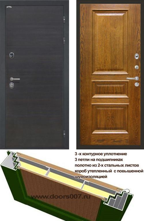 входные двери (стальные двери, металлические двери) DOORS007: дверь Интекрон Сицилия Валентия 2