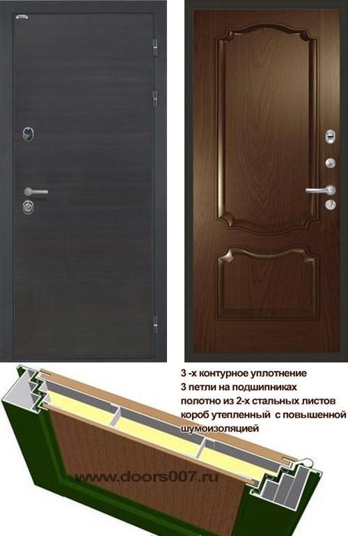 входные двери (стальные двери, металлические двери) DOORS007: дверь Интекрон Сицилия Позитано Багет
