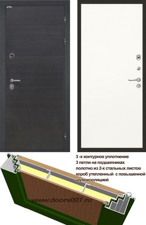 входные двери (стальные двери, металлические двери) DOORS007: дверь Интекрон Сицилия Гладкая, Цвет