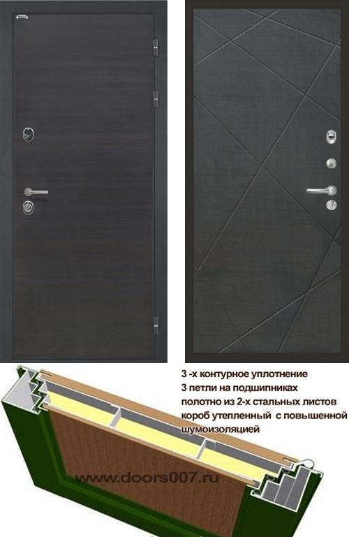 входные двери (стальные двери, металлические двери) DOORS007: дверь Интекрон Сицилия Лучи