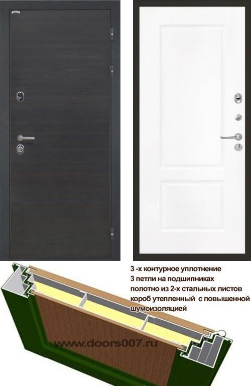 входные двери (стальные двери, металлические двери) DOORS007: дверь Интекрон Сицилия КВ-2