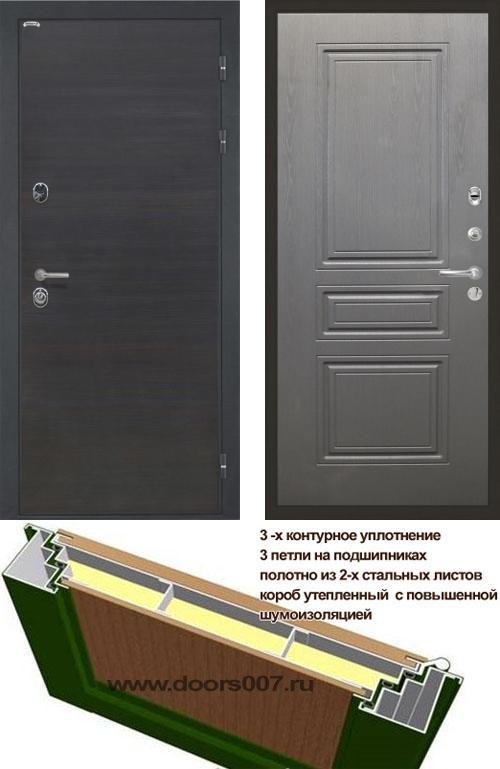 входные двери (стальные двери, металлические двери) DOORS007: дверь Интекрон Сицилия ФЛ-243-М, Цвет