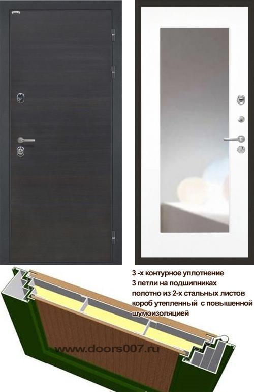 входные двери (стальные двери, металлические двери) DOORS007: дверь Интекрон Сицилия ФЛЗ-120