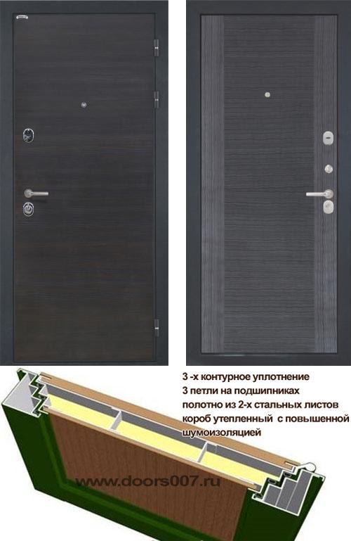 входные двери (стальные двери, металлические двери) DOORS007: дверь Интекрон Сицилия Квадро-4Н