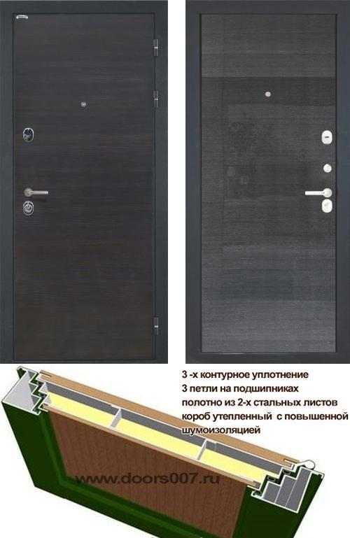 входные двери (стальные двери, металлические двери) DOORS007: дверь Интекрон Сицилия Квадро
