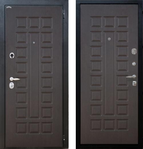 входные двери (стальные двери, металлические двери) DOORS007: дверь Интекрон Спарта, Цвет