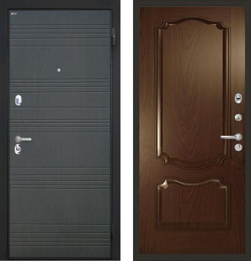 входные двери (стальные двери, металлические двери) DOORS007: дверь Интекрон Спарта Позитано Багет