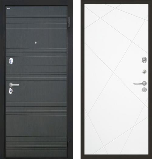 входные двери (стальные двери, металлические двери) DOORS007: дверь Интекрон Спарта Лучи, Цвет