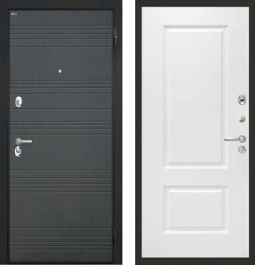входные двери (стальные двери, металлические двери) DOORS007: дверь Интекрон Спарта Альба, Цвет