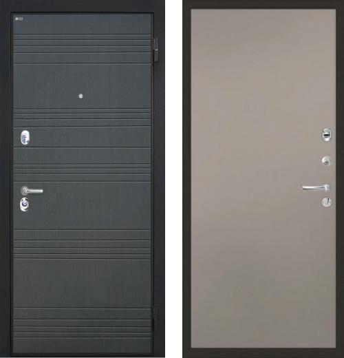 входные двери (стальные двери, металлические двери) DOORS007: дверь Интекрон Спарта Гладкая, Цвет