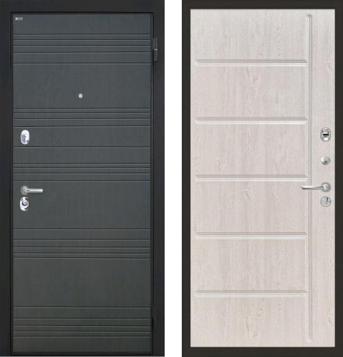 входные двери (стальные двери, металлические двери) DOORS007: дверь Интекрон Спарта ФЛ-102