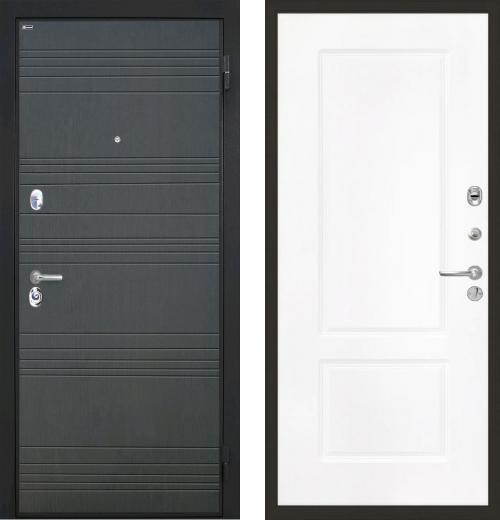 входные двери (стальные двери, металлические двери) DOORS007: дверь Интекрон Спарта КВ-2