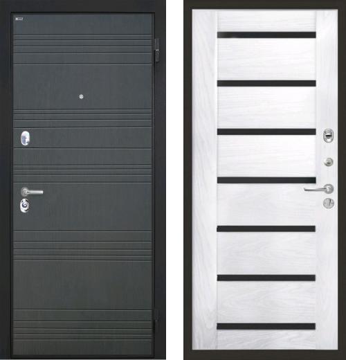 входные двери (стальные двери, металлические двери) DOORS007: дверь Интекрон Спарта Фоджа Багет, Цвет