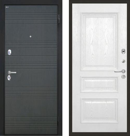 входные двери (стальные двери, металлические двери) DOORS007: дверь Интекрон Спарта Валентия 2, шпон