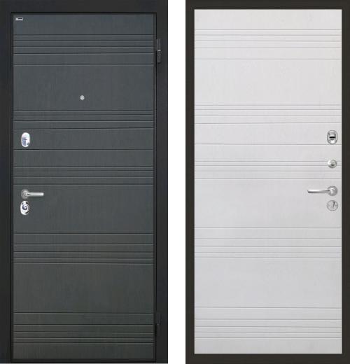 входные двери (стальные двери, металлические двери) DOORS007: дверь Интекрон Спарта ФЛ-316