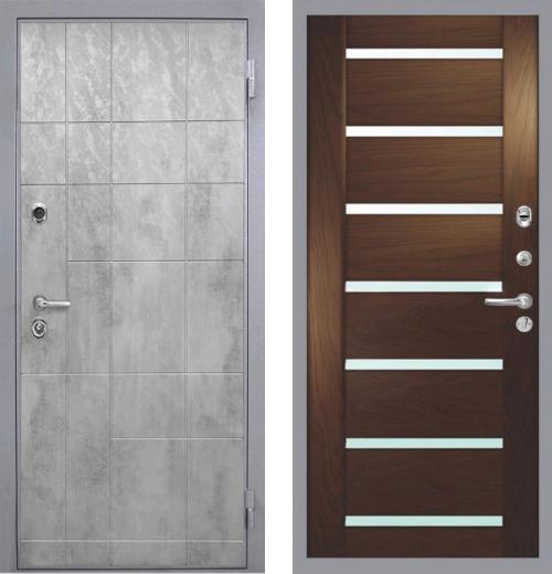 входные двери (стальные двери, металлические двери) DOORS007: дверь Интекрон Спарта Грэй Фоджа Багет, Цвет
