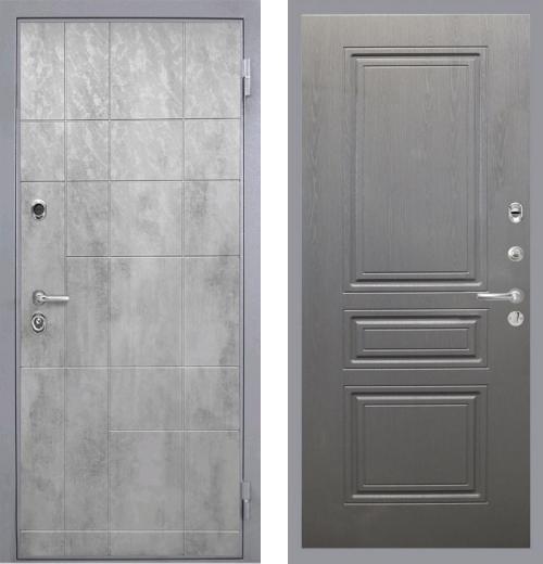 входные двери (стальные двери, металлические двери) DOORS007: дверь Интекрон Спарта Грэй ФЛ-243-М, Цвет