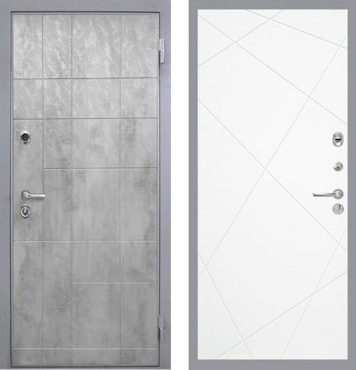 входные двери (стальные двери, металлические двери) DOORS007: дверь Интекрон Спарта Грэй Лучи, Цвет