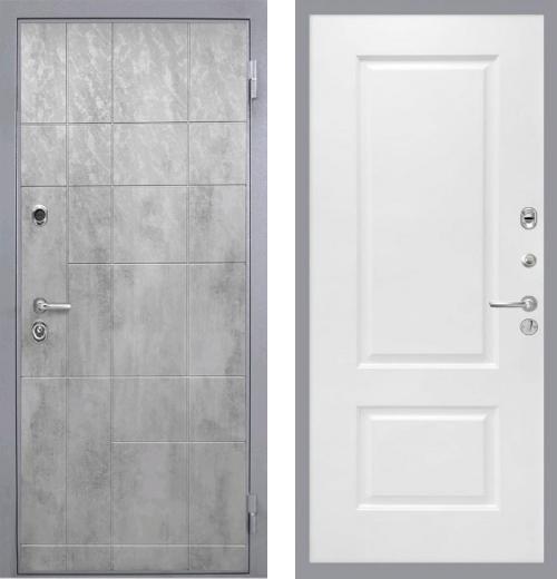 входные двери (стальные двери, металлические двери) DOORS007: дверь Интекрон Спарта Грэй Альба, Цвет