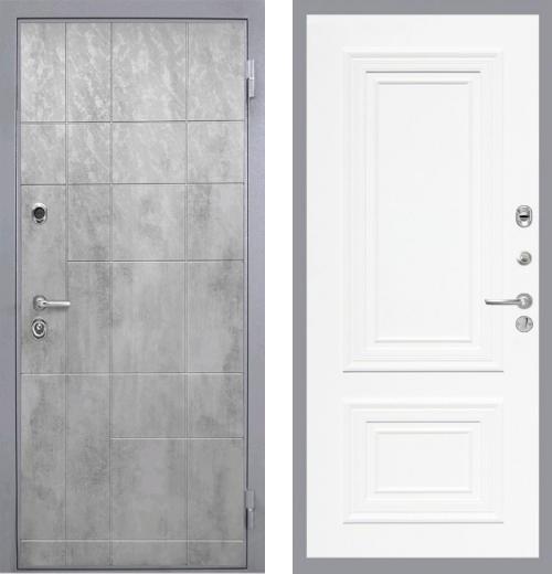 входные двери (стальные двери, металлические двери) DOORS007: дверь Интекрон Спарта Грэй Сан Ремо