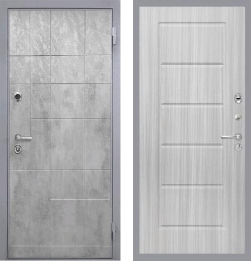 входные двери (стальные двери, металлические двери) DOORS007: дверь Интекрон Спарта Грэй ФЛ-39
