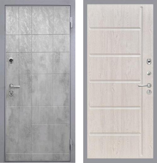 входные двери (стальные двери, металлические двери) DOORS007: дверь Интекрон Спарта Грэй ФЛ-102