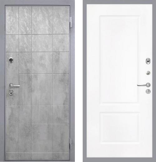 входные двери (стальные двери, металлические двери) DOORS007: дверь Интекрон Спарта Грэй КВ-2