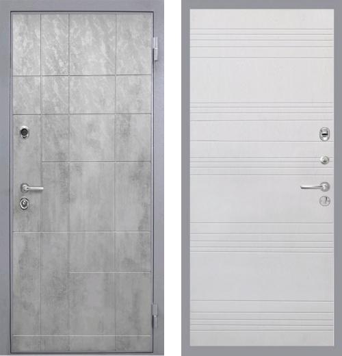 входные двери (стальные двери, металлические двери) DOORS007: дверь Интекрон Спарта Грэй ФЛ-316