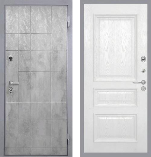 входные двери (стальные двери, металлические двери) DOORS007: дверь Интекрон Спарта Грэй Валентия 2, шпон