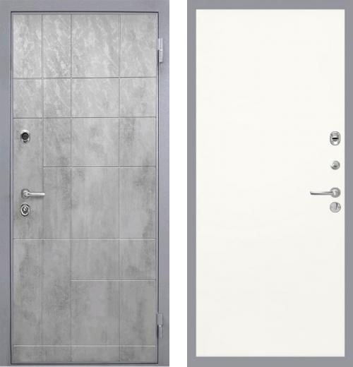 входные двери (стальные двери, металлические двери) DOORS007: дверь Интекрон Спарта Грэй Гладкая, Цвет