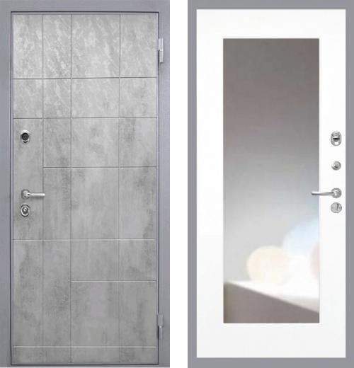 входные двери (стальные двери, металлические двери) DOORS007: дверь Интекрон Спарта Грей