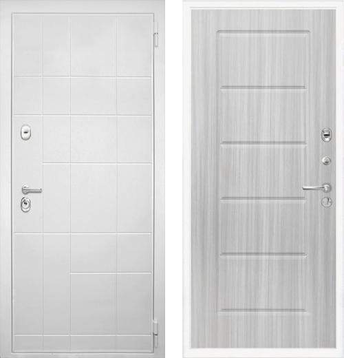 входные двери (стальные двери, металлические двери) DOORS007: дверь Интекрон Спарта White ФЛ-39