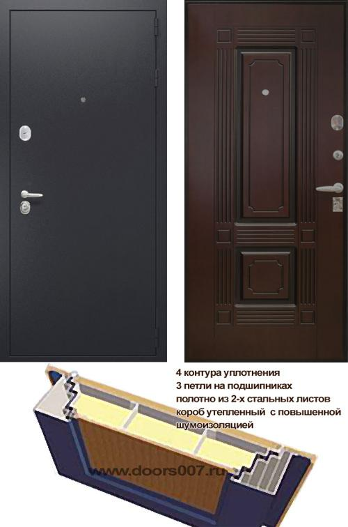 входные двери (стальные двери, металлические двери) DOORS007: дверь Сенатор Вавилон, Цвет