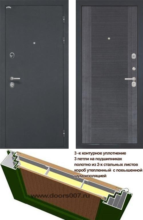 входные двери (стальные двери, металлические двери) DOORS007: дверь Интекрон Венеция Квадро-4Н