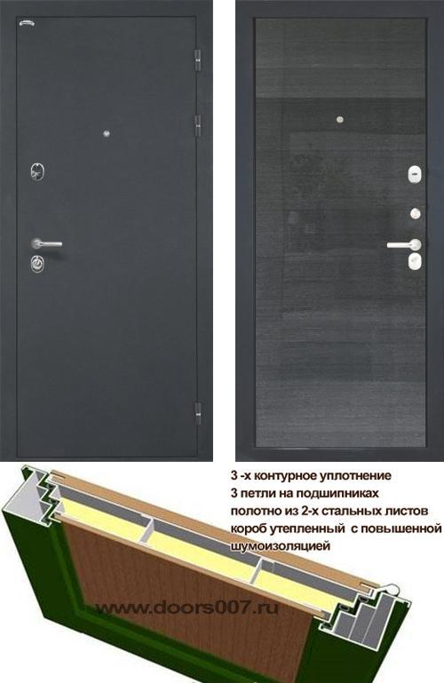 входные двери (стальные двери, металлические двери) DOORS007: дверь Интекрон Венеция Квадро