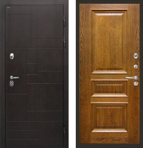 входные двери (стальные двери, металлические двери) DOORS007: дверь Интекрон Веста Валентия 2, шпон
