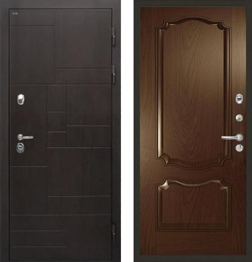 входные двери (стальные двери, металлические двери) DOORS007: дверь Интекрон Веста Позитано Багет
