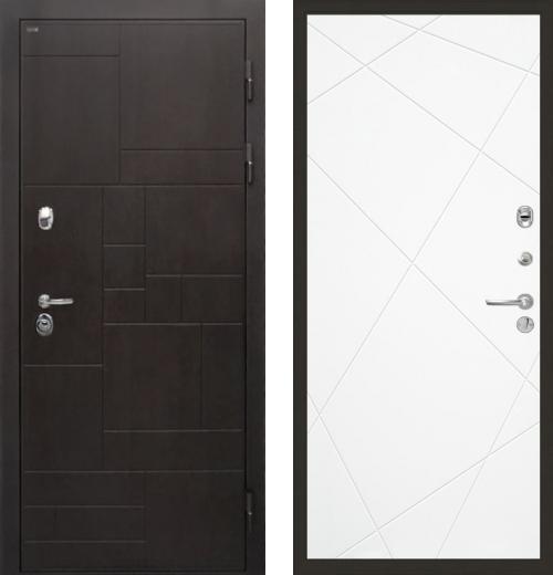 входные двери (стальные двери, металлические двери) DOORS007: дверь Интекрон Веста Лучи, Цвет