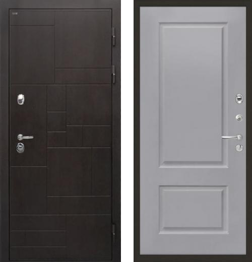 входные двери (стальные двери, металлические двери) DOORS007: дверь Интекрон Веста Альба, Цвет