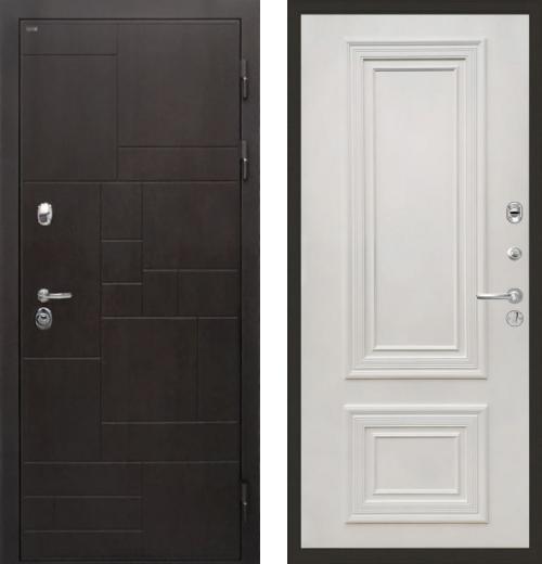 входные двери (стальные двери, металлические двери) DOORS007: дверь Интекрон Веста Сан Ремо