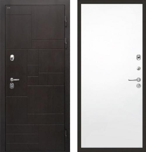входные двери (стальные двери, металлические двери) DOORS007: дверь Интекрон Веста Гладкая, Цвет