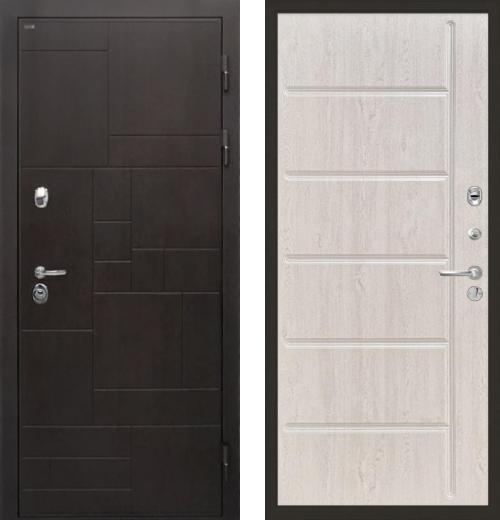 входные двери (стальные двери, металлические двери) DOORS007: дверь Интекрон Веста ФЛ-102