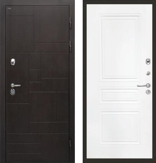 входные двери (стальные двери, металлические двери) DOORS007: дверь Интекрон Веста ФЛ-243-М, Цвет