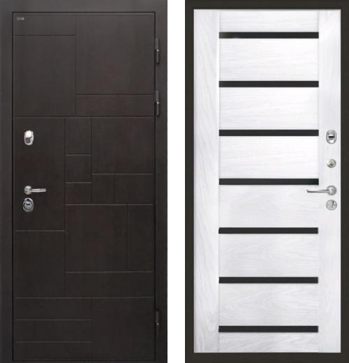 входные двери (стальные двери, металлические двери) DOORS007: дверь Интекрон Веста Фоджа Багет, Цвет