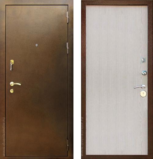 входные двери (стальные двери, металлические двери) DOORS007: дверь Кондор 3, Цвет
