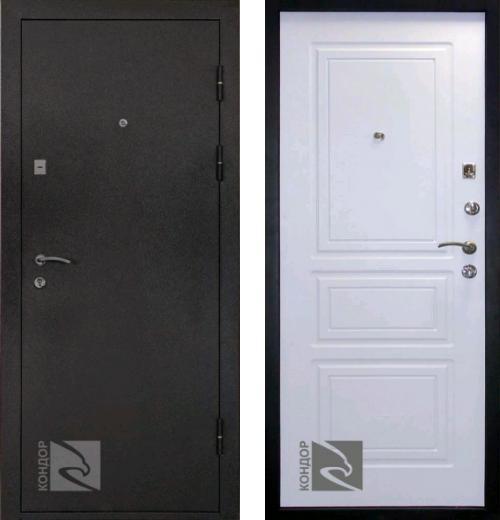 входные двери (стальные двери, металлические двери) DOORS007: дверь Кондор 8