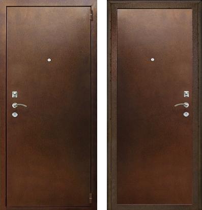 входные двери (стальные двери, металлические двери) DOORS007: дверь Кондор 9