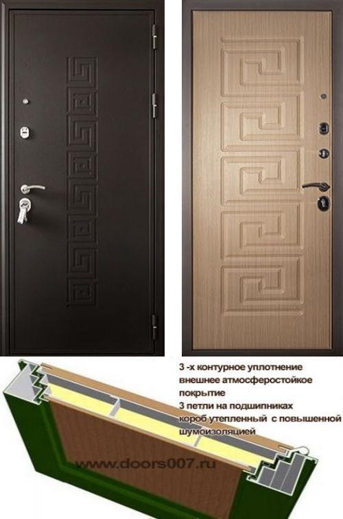 входные двери (стальные двери, металлические двери) DOORS007: дверь Кондор Греция