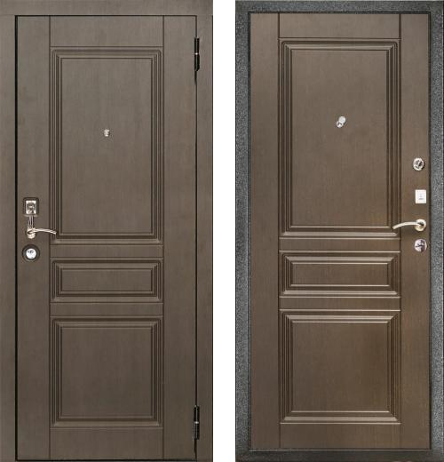 входные двери (стальные двери, металлические двери) DOORS007: дверь Кондор Комфорт, Цвет