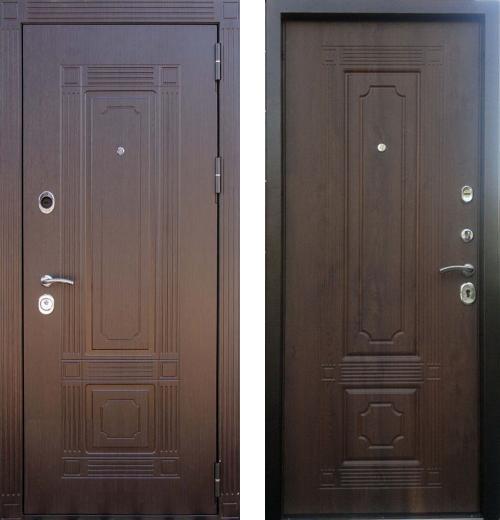 входные двери (стальные двери, металлические двери) DOORS007: дверь Кондор Мадрид, Цвет
